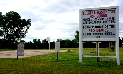 Booker T. Washington High School Memorial Community Park